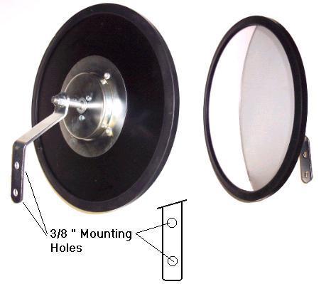 Round Convex Mirrors Acrylic Glass Indoor Outdoor