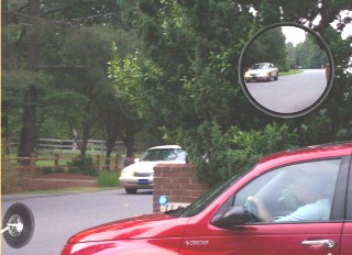 Convex Traffic Safety Mirrors From Reflection Products Inc