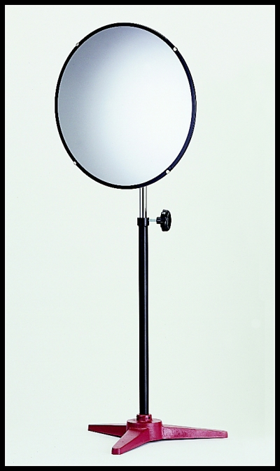 Portable Pedestal Stand Convex Mirror With Swivel Mount