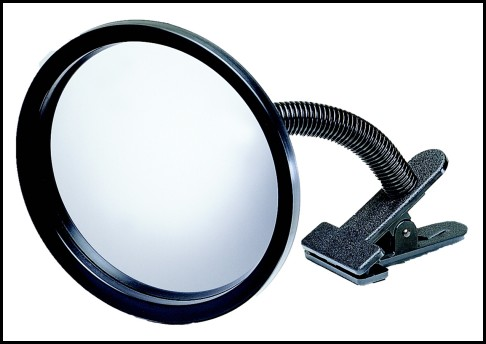 Portable Clip On Convex Mirror For Safety Security And