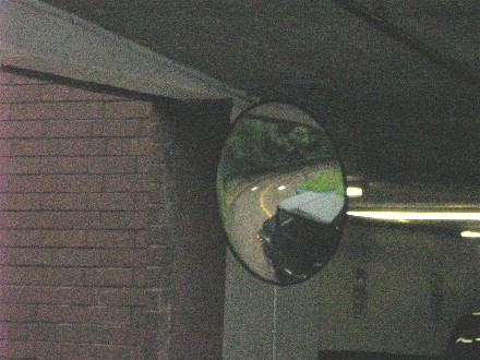Pictures Of Parking Garage And Store Traffic Safety Mirrors